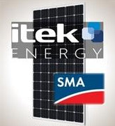 3.2 kW PV Kit iTek 360 XL, SMA Inverter