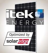 4.3 kW Solar Kit iTek 360 XL, SolarEdge Optimizer