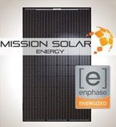 1 kW Solar Kit, Mission 300, Enphase IQ7+ Micro