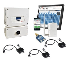3 kW Solar Kit, Mission 300, Solar Edge Inverter