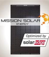 4 kW Solar Kit, Mission 300, Solar Edge Inverter