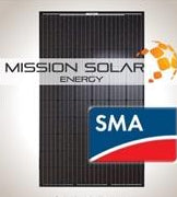 4.2 kW Solar Kit, Mission 300, SMA Inverter