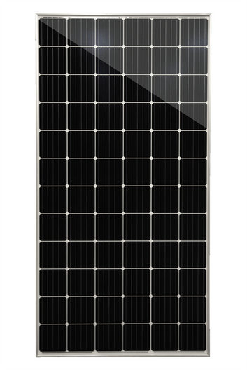Mission Solar 385W, 72 Cell Black Mono Solar Panel