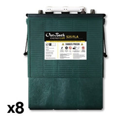 Outback Power EnergyCell 48-FLA-525-445 Amp Hour 48 Volt Flooded Battery System