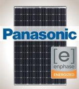 1.3 kW Solar Kit Panasonic 330, Enphase IQ7X-96 240V