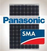 4.6kW Solar Kit Panasonic 330, SMA Inverter