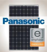 4.6 kW Solar Kit Panasonic 330, Enphase IQ7X-96 240V