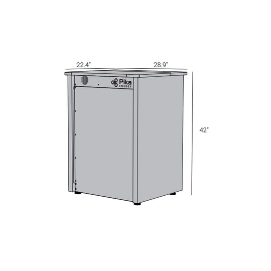 14kWh Coral SB14A Battery System (Dimention)