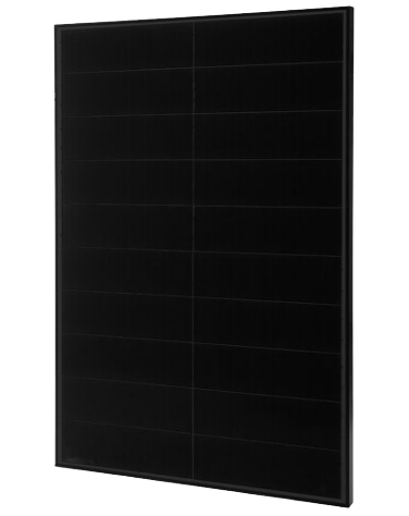 Solaria 360W, 60 Cell Mono Crystalline Cell, Black