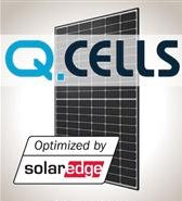 4.2 kW Solar Kit Q.Cells 325M, SolarEdge HD Optimizer