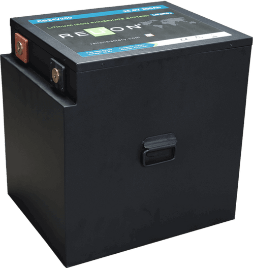 Relion RB24V200 Lithium Ion LiFePO4 Battery 24V 200Ah