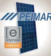 3.3 kW Solar Kit, Peimar 330P XL, Enphase Inverter