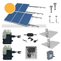4.6 kW Solar Kit, Peimar 330P XL, Enphase Inverter