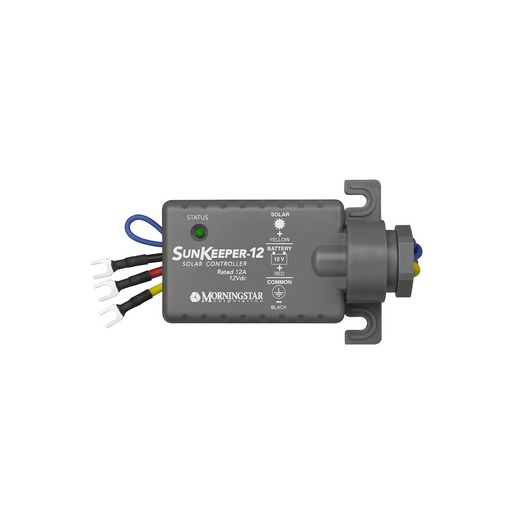 Morningstar Sunkeeper 12 Amp SK-12, 12V Charge Controller