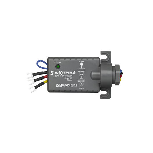 Morningstar Sunkeeper 6 Amp SK-6, 12V PWM Charge Controller