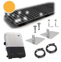 2.4 kW PV Kit Silfab 310 Black, SMA Inverter