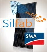 4 kW PV Kit Silfab 310 Black, SMA Inverter