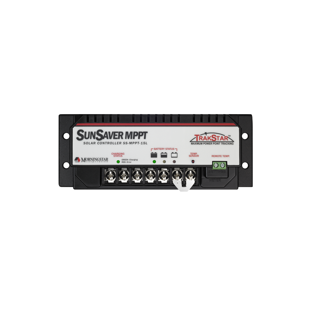 Morningstar SunSaver 15Amp SS-MPPT-15L, 12/24V Charge Controller (With LVD System)