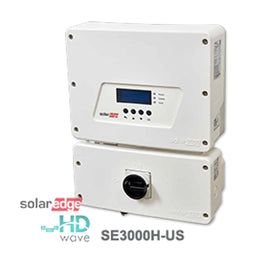 SolarEdge 3.0 kW (With Screen) Single-Phase Solar Inverter, (SE3000H-US)