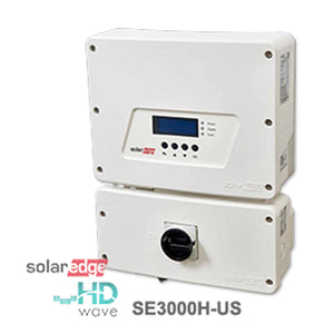 Solar Edge 3.0 kW (With Screen) Single-Phase Solar Inverter, (SE3000H-US)