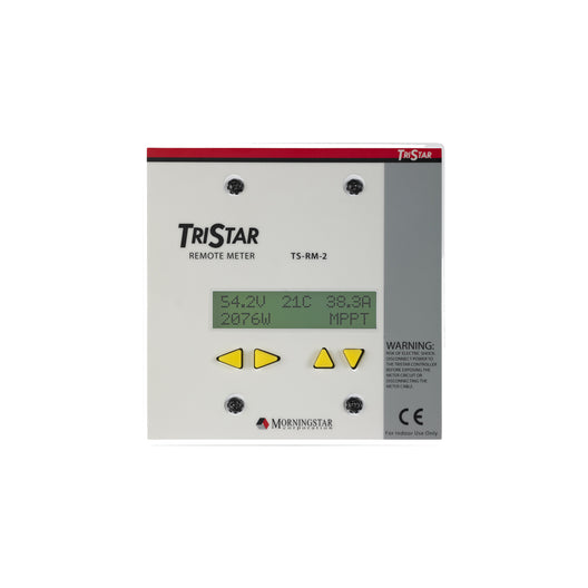 Morning Star TriStar Remote Digital Meter, (TS-RM-2)