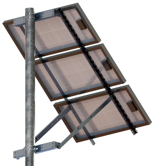 "Tamarack Solar 70"" Side Of Pole Mount (UNI-SP/03)"