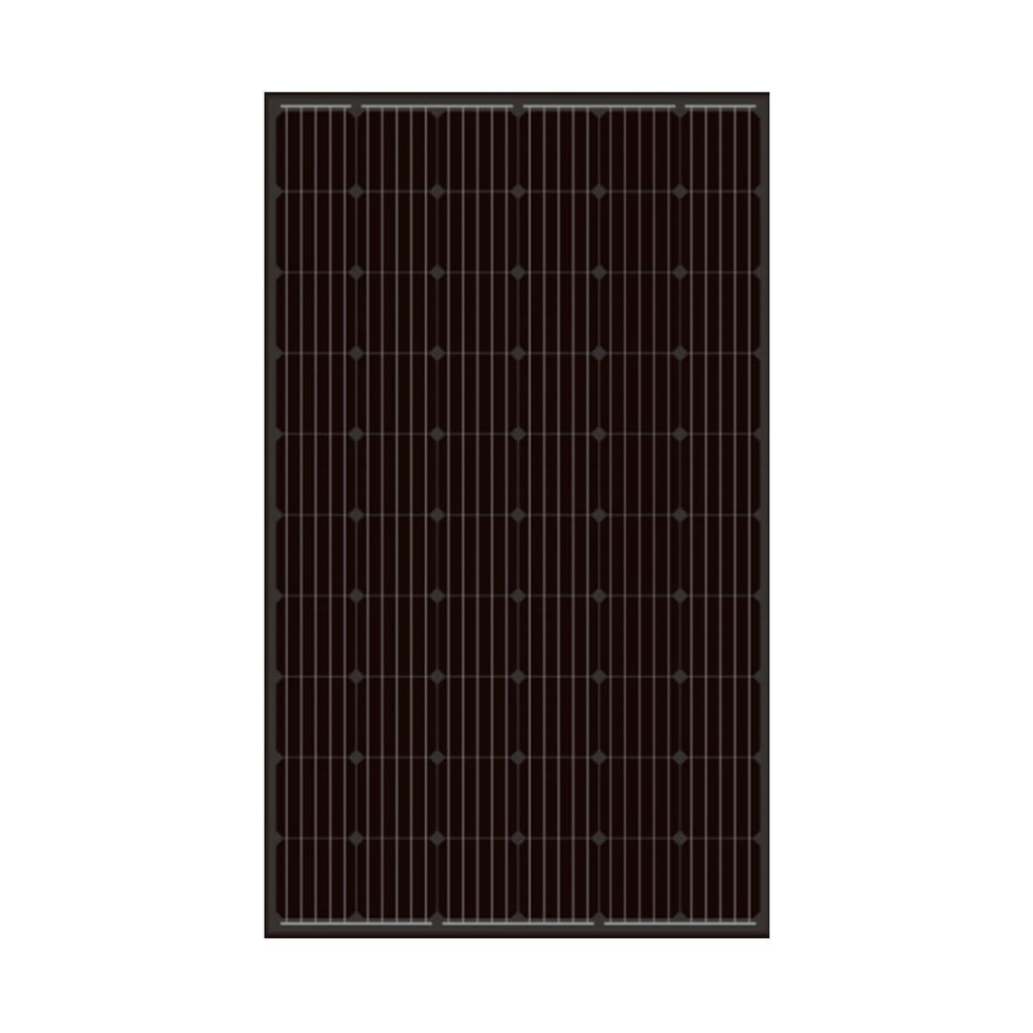 V-Sun Solar 310W Mono 60 Cell Black Solar Panel  (VSUN310-60M-BB)