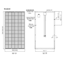 Load image into Gallery viewer, V-Sun Solar 300W Mono 60 Cell Black Solar Panel  (VSUN300-60M-BB)