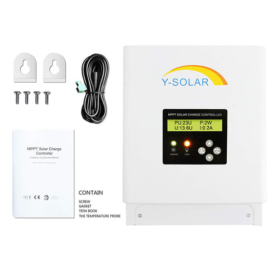 Y-Solar 60 Amp Solar Charge Controller (eMPPT6048)