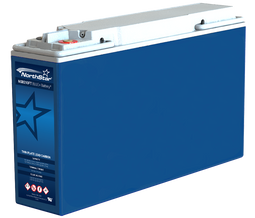 NorthStar BLUE+ VRLA-AGM Pure Lead Carbon 200Ah, 12V Front Terminal