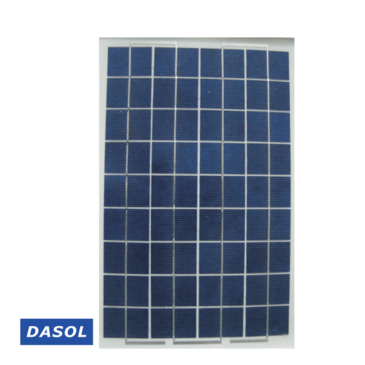 DASOL 10W Poly Solar Panel (DS-A18-10)