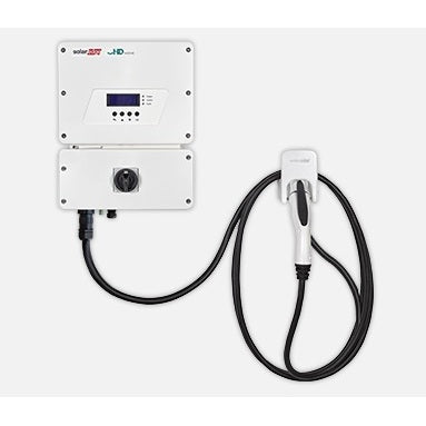 Solaredge EV Charging Single Phase Inverter, 7.6kW, Set App. With RGM. Cable and Holder Sold Sseparately