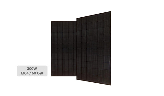 LG NeON 330W Mono 60 Cell Black Solar Panel