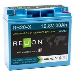 RELiON Lithium 12V 20 Ah Deep Cycle Battery