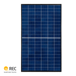 REC TwinPeak 350W Poly-Crystalline 72 Cell Solar Panel (REC350TP2S)
