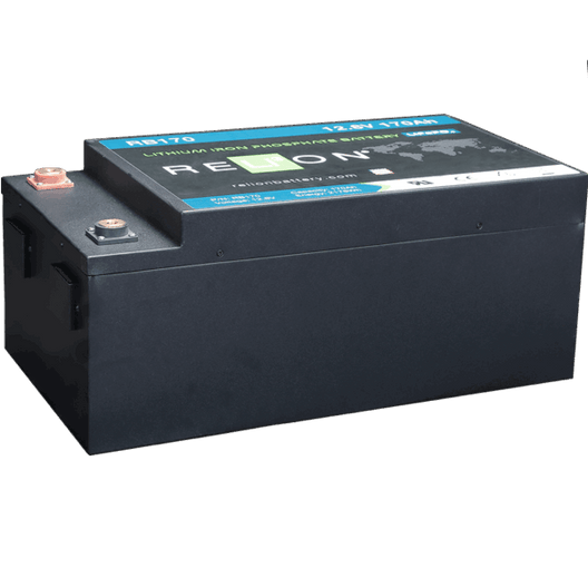 12V 170-AH LIFEPO4 BATTERY, M8 Terminal Type