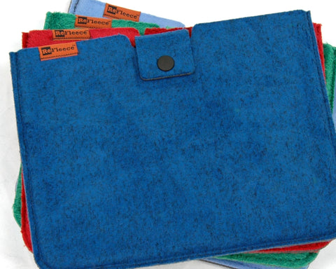 Wild Side iPad Sleeve - Deep Blue