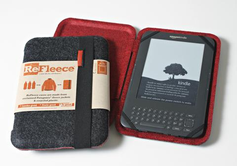 ReFleece E-Reader Case - for Kindle Keyboard or Kindle Fire 7.5""
