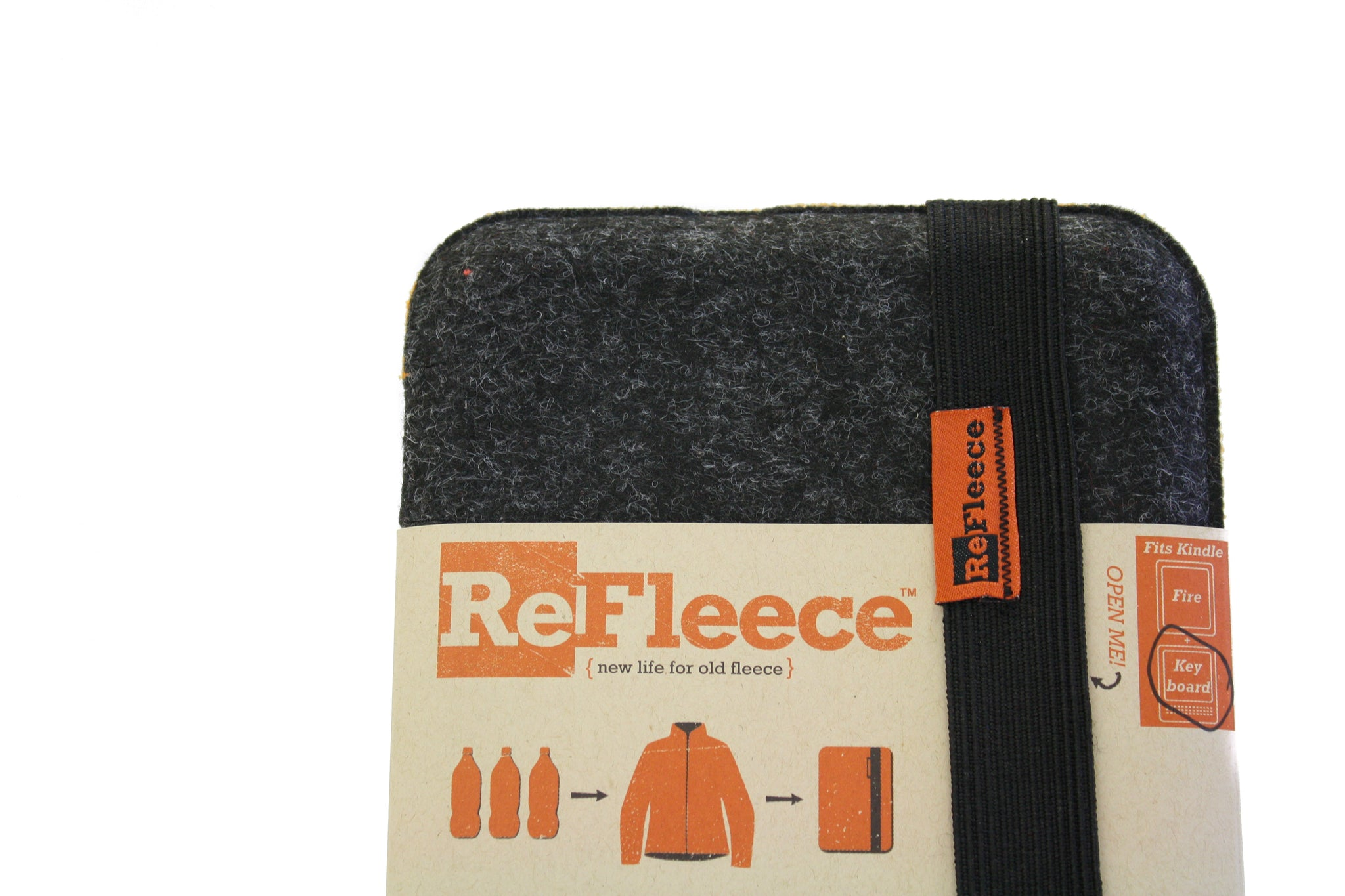 ReFleece E-Reader Case - for Kindle Paperwhite or Kobo Touch 6.75""