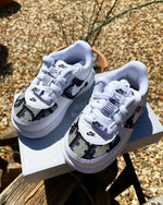 Baby Dior Air Force 1 '08 - Blue/White *toddler sizes*