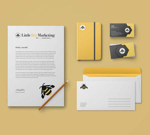 Townville Business Stationary Little Bee Marketing