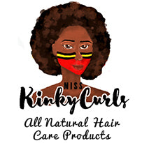 Miss kinky curls marketing logo