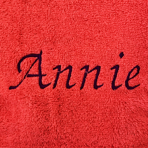 Townsville Embroidery Towel Custom