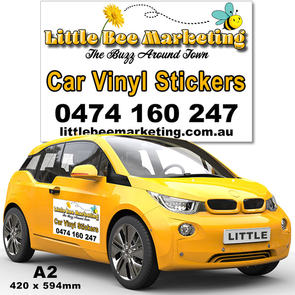 Townsville Vinyl Stickers Car Signs