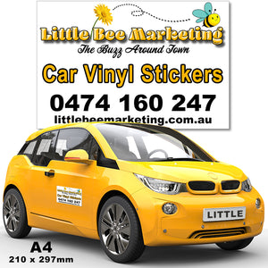 Car Stickers Townsville Signs Printers