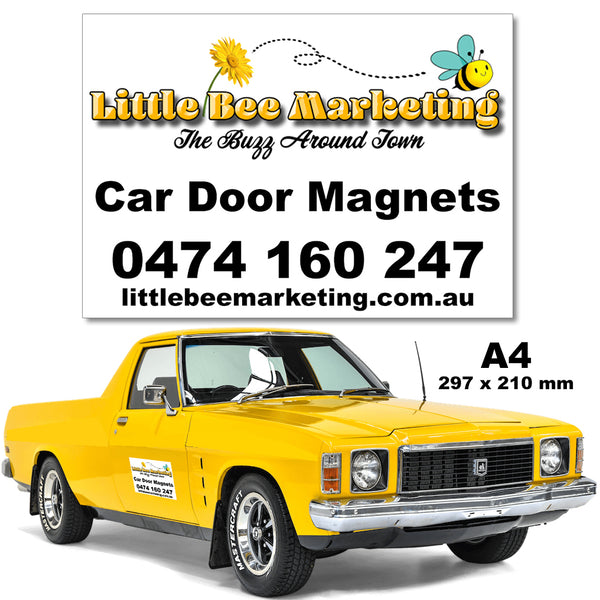 Car Door Magnets Townsville Vehicle Signage
