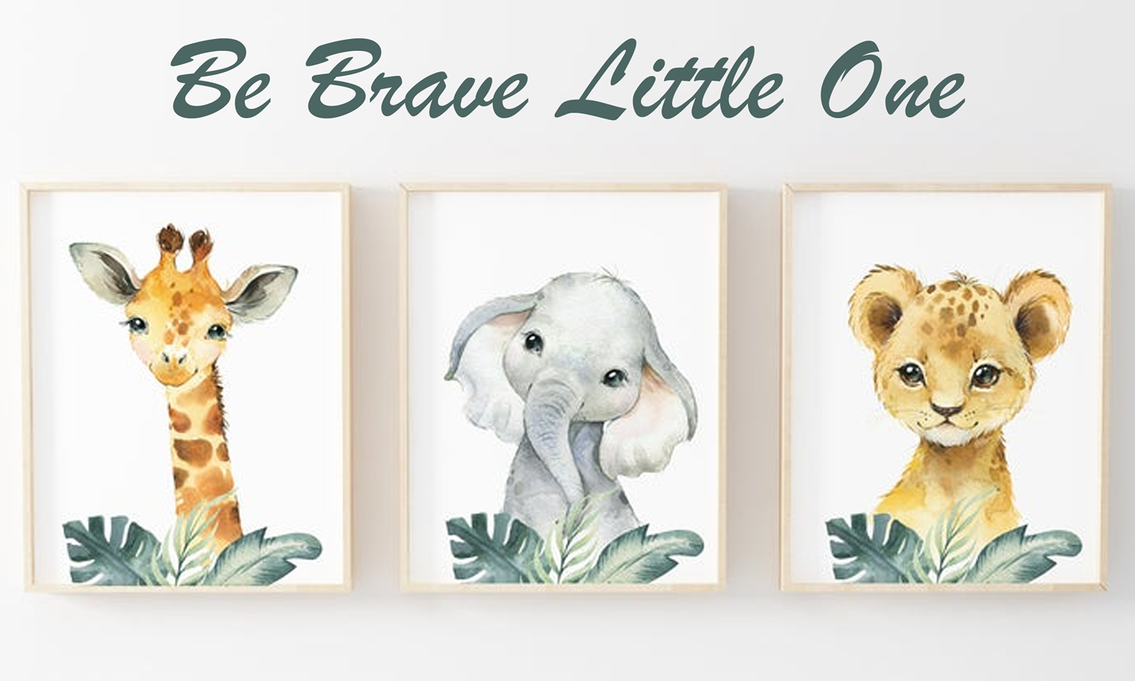 Set of 3 nursery prints A3