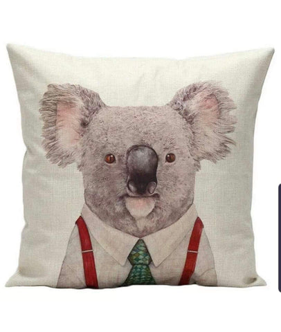 Koala cushion cover