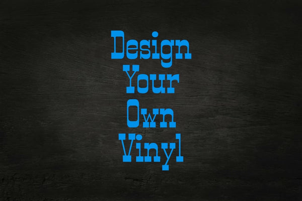 Design Your Own Adhesive Vinyl 12 x 12 Sheet