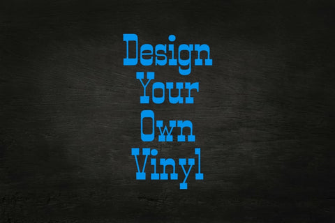 Design your own adhesive vinyl 12x12 sheet